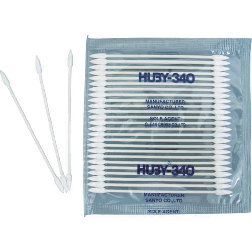 HUBY マイクロスワッブ(シャープポイントスリム)  (50000本入) ( BB-003 ) (株)クリーンクロス