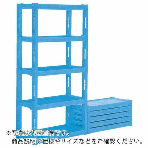 サンコー プラスチック棚ーL4 灰 805953-GL ( 805953GL )