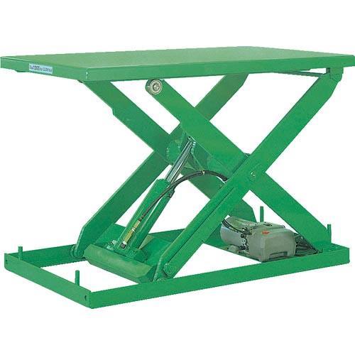 ビシャモン テーブルリフト NXシリーズ 均等荷重1000kg ストローク845mm NX100WC-B ( NX100WCB )