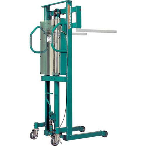ビシャモン トラバーリフト(手動油圧式)早送り装置付 均等荷重250kg  ST25H ( ST25H )
