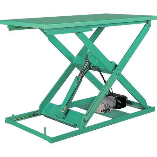 ビシャモン テーブルリフト ミニXシリーズ 均等荷重300kg ストローク1000mm X-030615A-B ( X030615AB )