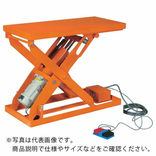 TRUSCO スーパーFAリフター500kg 電動式 1050X600 高揚程型 HFA-50-610W ( HFA50610W )