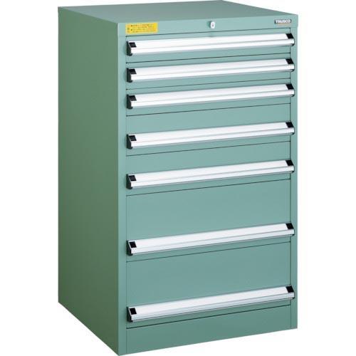 TRUSCO VE6S型キャビネット 600X550XH1000 引出7段 VE6S-1004 VE6S-1004 ( VE6S1004 )