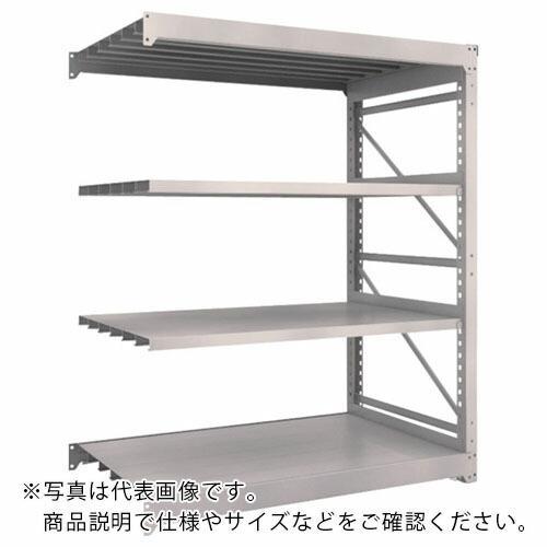 TRUSCO M10型重量棚 1500X900XH1800 4段 連結 ネオグレー TRUSCO M10型重量棚 1500X900XH1800 4段 連結 ネオグレー M10-6594B ( M106594B )