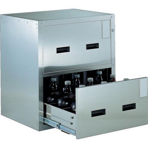 TRUSCO 耐震薬品庫 705X600XH800 2段引出型 SYW-2 ( SYW2 )