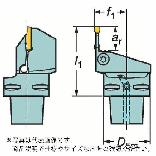 サンドビック コロマントキャプト コロカット1・2用カッティングユニット C5-RF123J13-35060B ( C5RF123J1335060B )