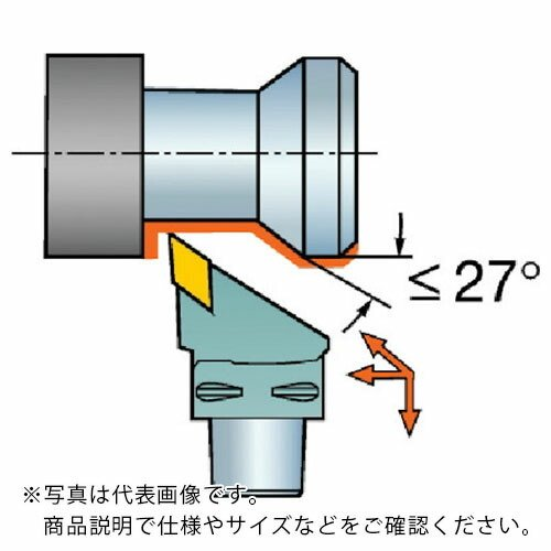 サンドビック コロマントキャプト コロターンRC用カッティングヘッド C4-DDJNR-27055-15 ( C4DDJNR2705515 C4DDJNR2705515 C4DDJNR2705515 ) 5f1