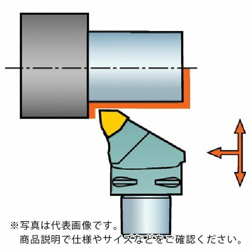 サンドビック コロマントキャプト コロターンRC用カッティングヘッド C5-DWLNR-35060-08 ( C5DWLNR3506008 )