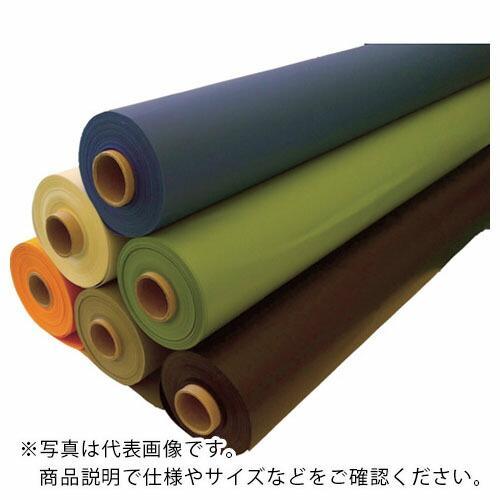 TRUSCO ターポリンシート オレンジ 1850X50M 0.35mm厚 TPS1850R-OR ( TPS1850ROR )