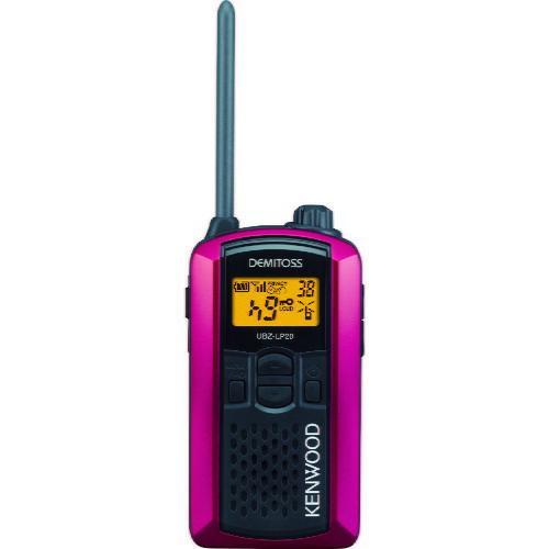 ケンウッド 特定小電力トランシーバー(交互通話) UBZ-LP20RD ( UBZLP20RD )