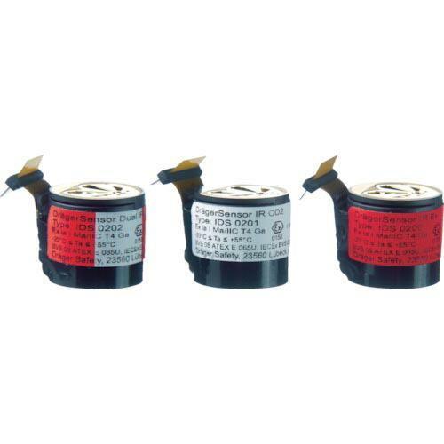 Drager 赤外線式センサー 可燃性ガス/二酸化炭素(測定対象ガス:メタン) 6811960-34 ( 681196034 )