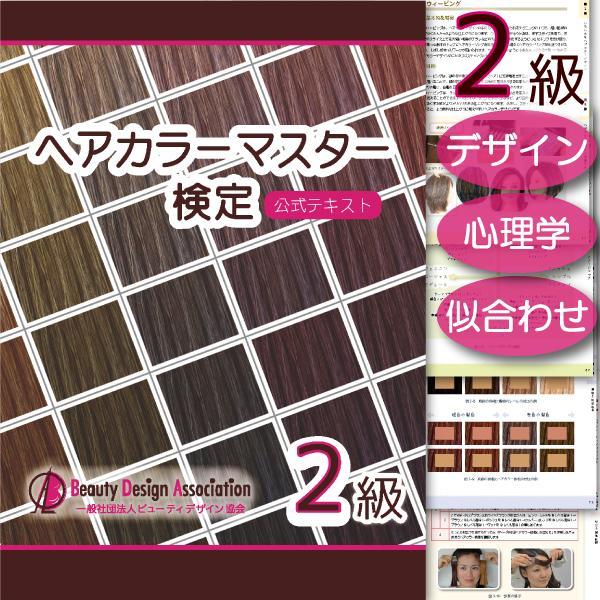 ヘアカラーマスター検定 公式テキスト3級・2級2冊セット ヘアカラーリングの製品学・色彩学・デザイン・心理学・似合わせの教科書 hair-color 07
