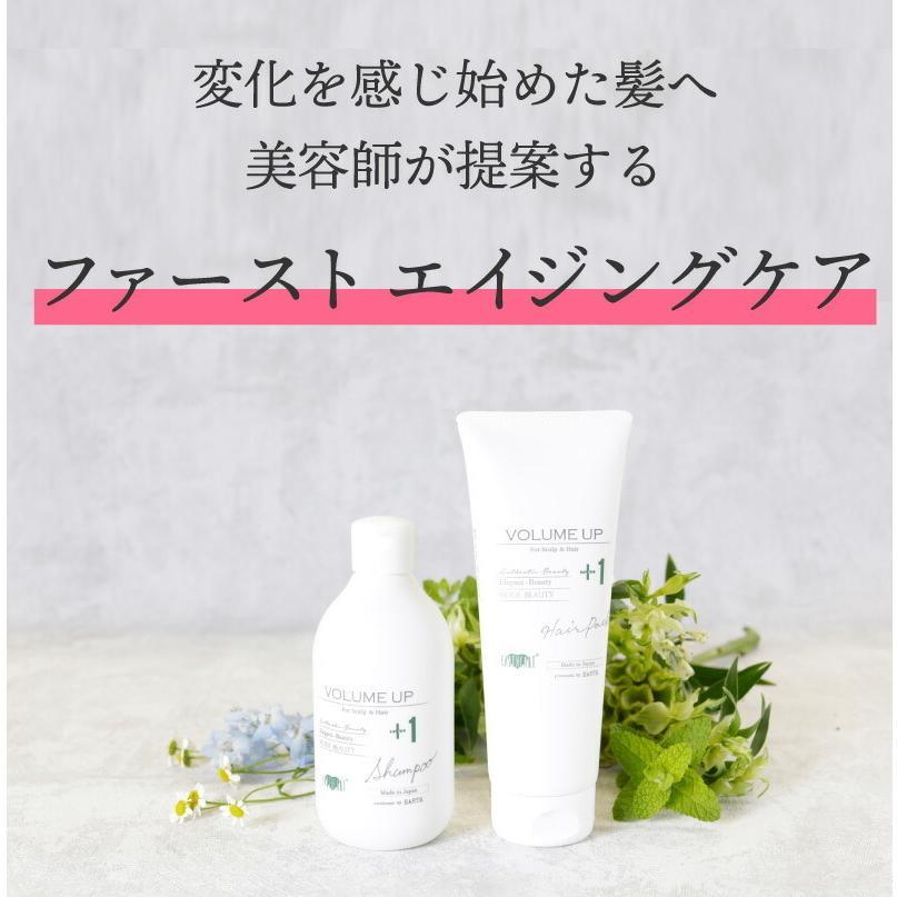 【2点セット】EARTHEART ボリュームアップ シャンプー&ヘアパックセット|hairmake-earth-store|06