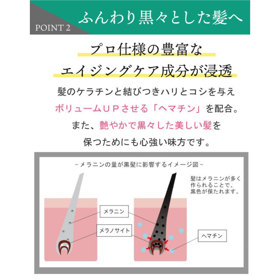 【単品】美髪成分を新配合!美容師開発のファーストエイジングケア!ボリュームアップ シャンプー +1(300ml) hairmake-earth-store 05