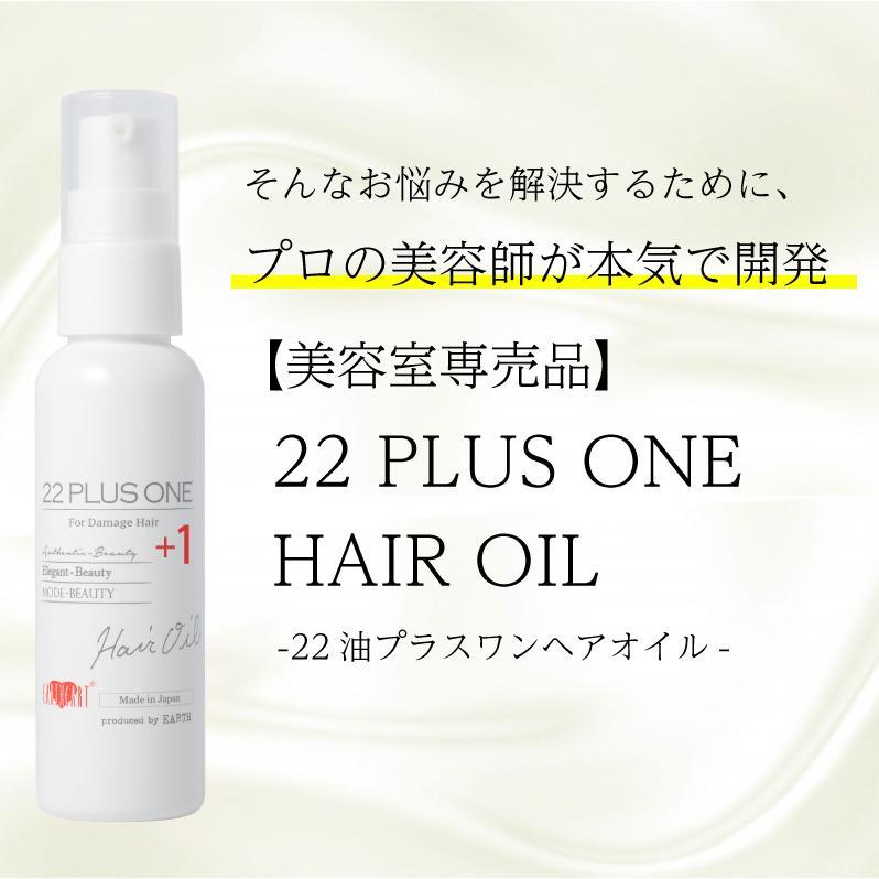 【美容室専売】プロ仕様 22油プラス1 ヘアオイル60ml / 洗い流さないトリートメント  日本製|hairmake-earth-store|05