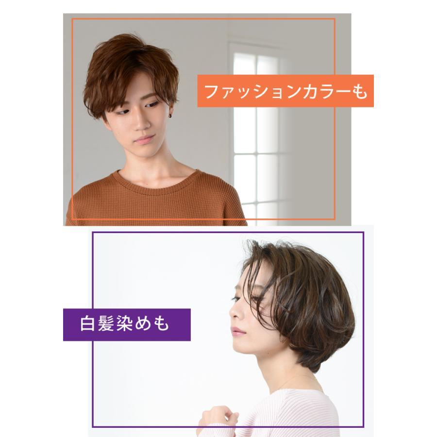 【美容室専売品】2点セット プロ仕様カラー専用シャンプー&ヘアパック セット(各250ml) hairmake-earth-store 04