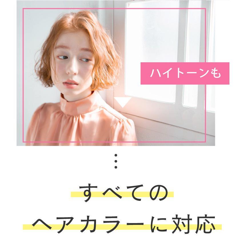 【美容室専売品】2点セット プロ仕様カラー専用シャンプー&ヘアパック セット(各250ml) hairmake-earth-store 05