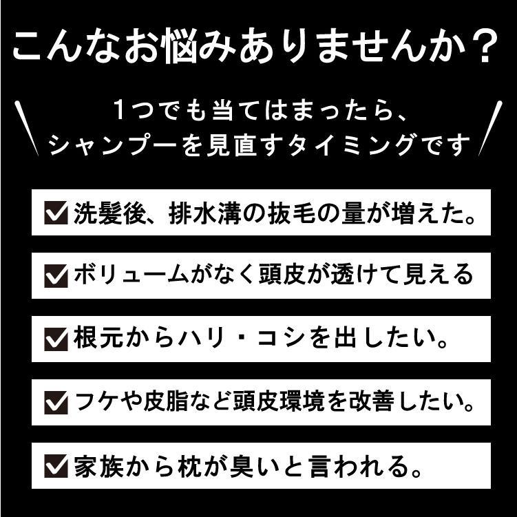 【2点セット】薬用スキャルプシャンプー&トニックセット [医薬部外品] hairmake-earth-store 04