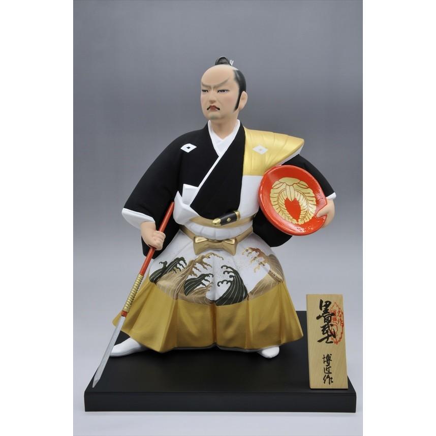 博多人形 【黒田武士(G)】 「黄金の国の侍」御祝の代表格・伝統工芸博多人形|hakata-honpo