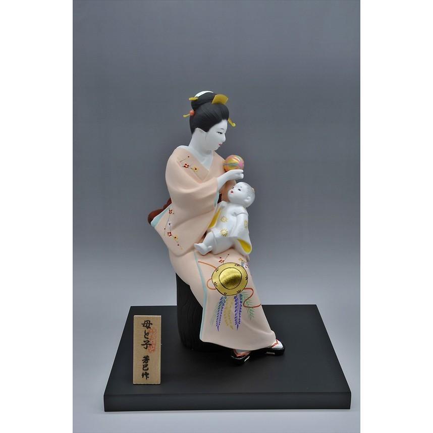 博多人形 【母と子】  湧き溢れる《親子愛》 ・・・ hakata-honpo 03
