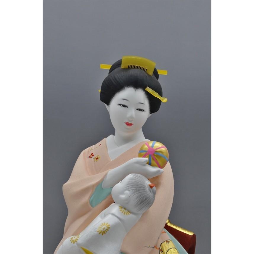 博多人形 【母と子】  湧き溢れる《親子愛》 ・・・ hakata-honpo 04