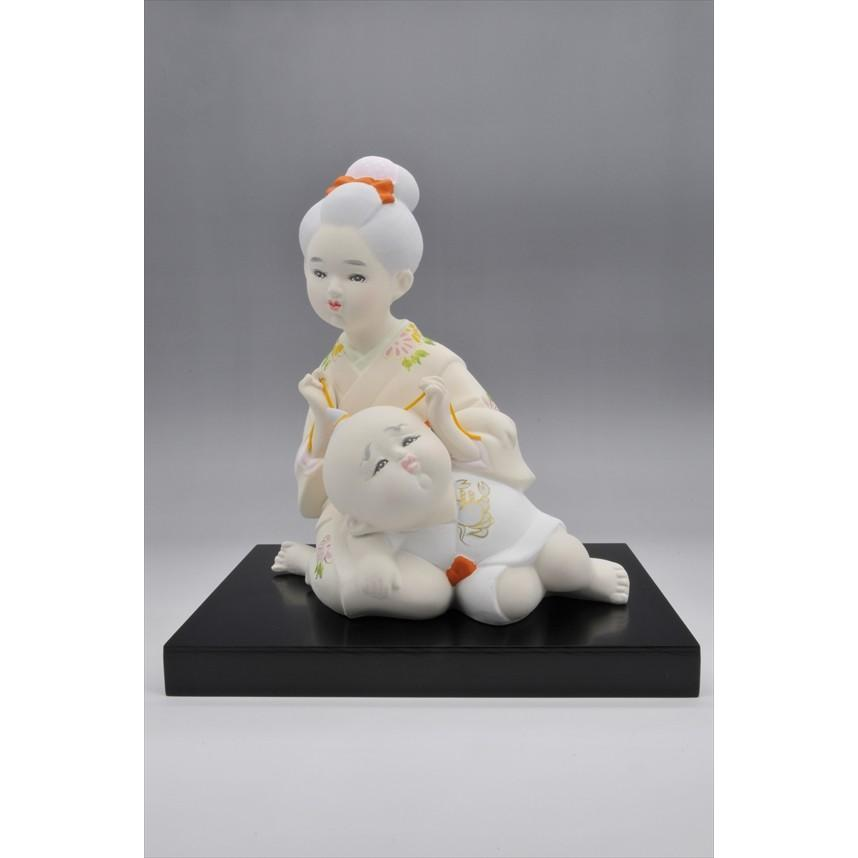 博多人形  【お姉さん】こんな風景・・・懐かしくありませんか?|hakata-honpo|02
