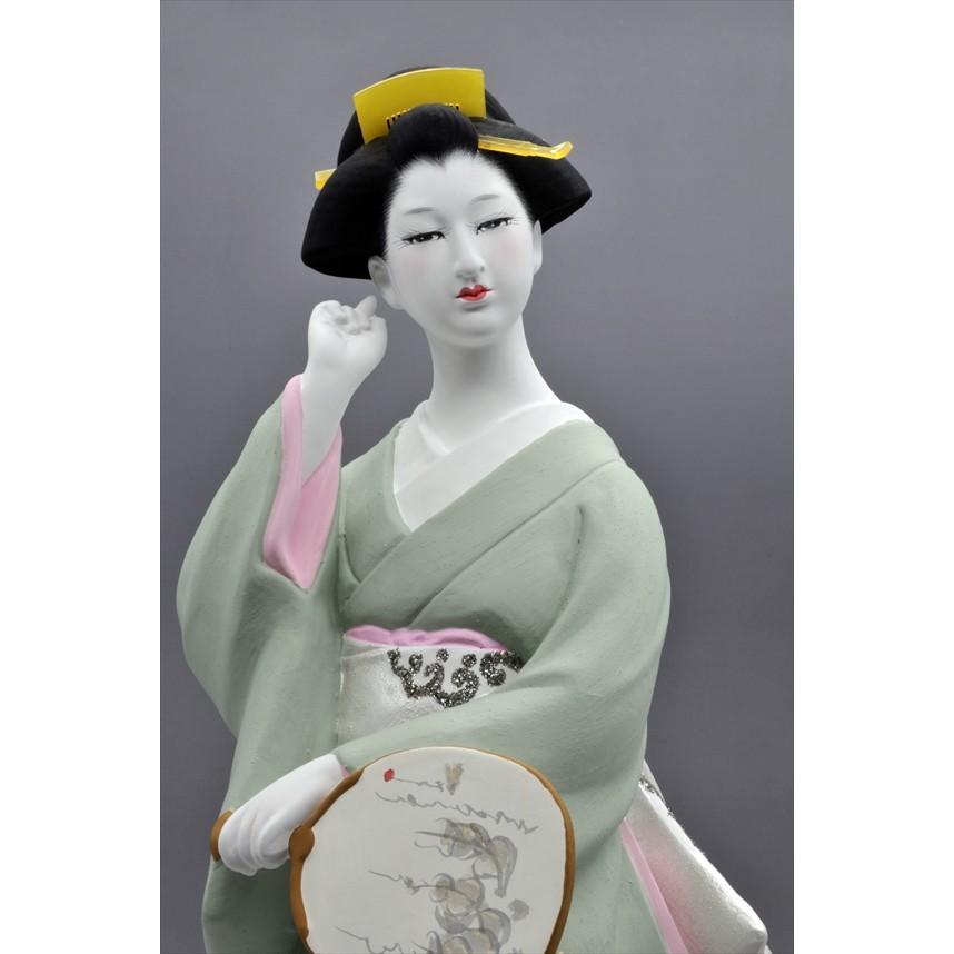 博多人形 【夕 凪】 博多人形でも珍しい、夏の美人物。優雅な姿に〜うっとり・・・|hakata-honpo|02