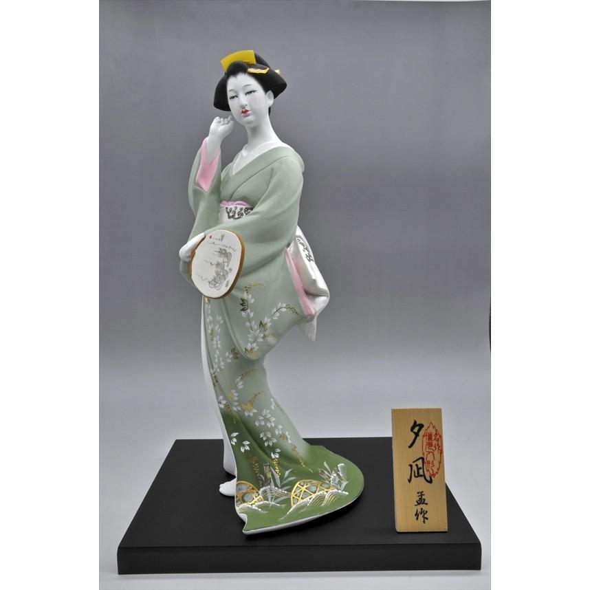 博多人形 【夕 凪】 博多人形でも珍しい、夏の美人物。優雅な姿に〜うっとり・・・|hakata-honpo|03