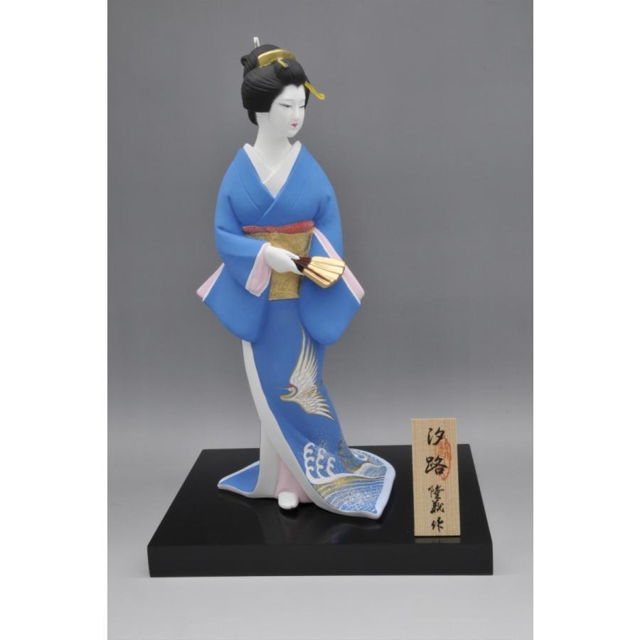 博多人形 【汐路】 古典的な博多美人を表現 hakata-honpo 03