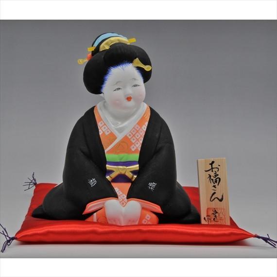 博多人形 【お福さん】一番売れているお福さん!!|hakata-honpo