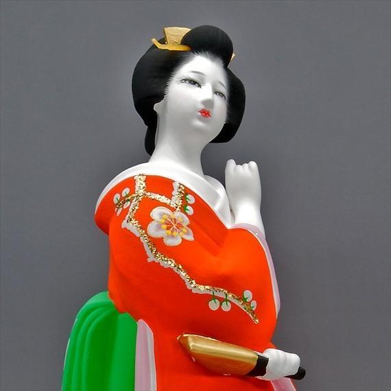 博多人形 【初 春】  赤 最も売れている「女性物」!!様々な場面でご利用頂ける日本の人形です(人形ケース付) hakata-honpo 05