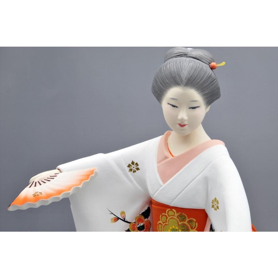 博多人形 【仕舞】 博多美人の舞姿は、目出度さを表現 hakata-honpo 04