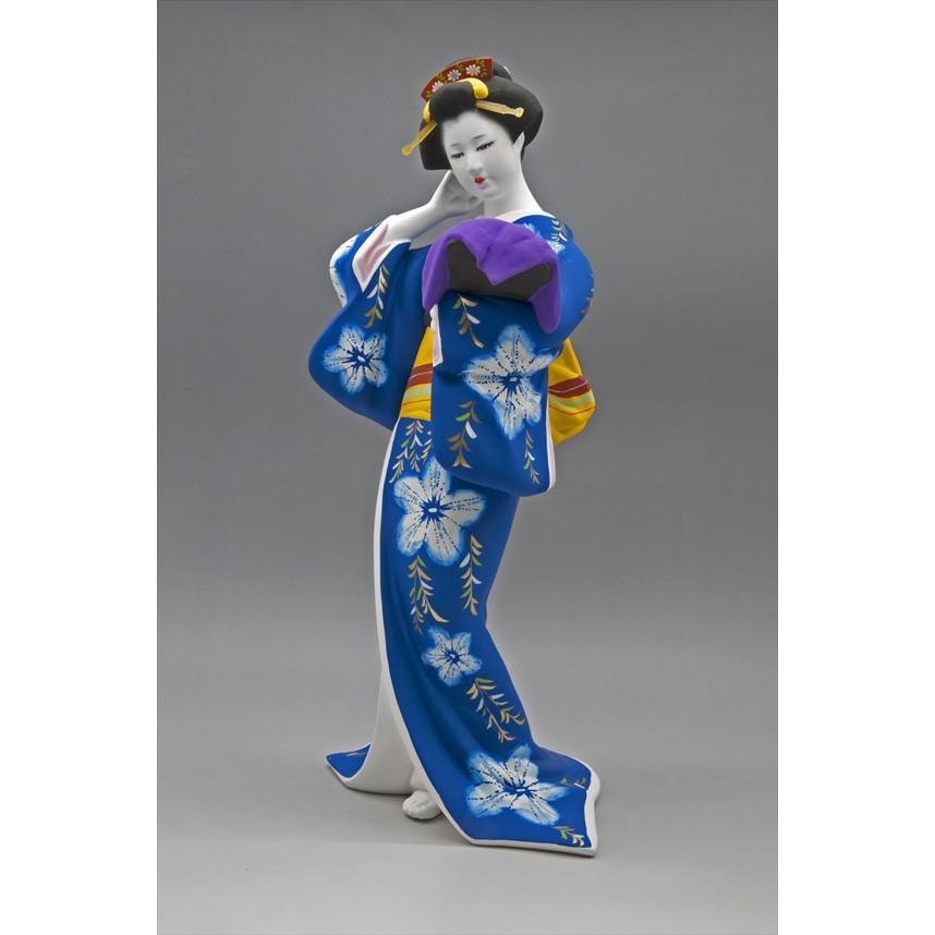 博多人形 【博多絞り】 博多人形美人ものは、国内のみならず、海外の方へのお土産、各種ご贈答品に、最適です hakata-honpo
