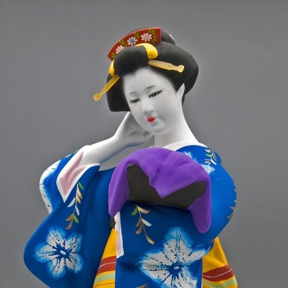 博多人形 【博多絞り】 博多人形美人ものは、国内のみならず、海外の方へのお土産、各種ご贈答品に、最適です hakata-honpo 05