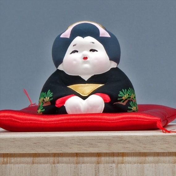 博多人形 【三福三 (さんぷくさん)お福さん】 三体のお茶目で可愛いお福さんにホッコリ〜 hakata-honpo 02