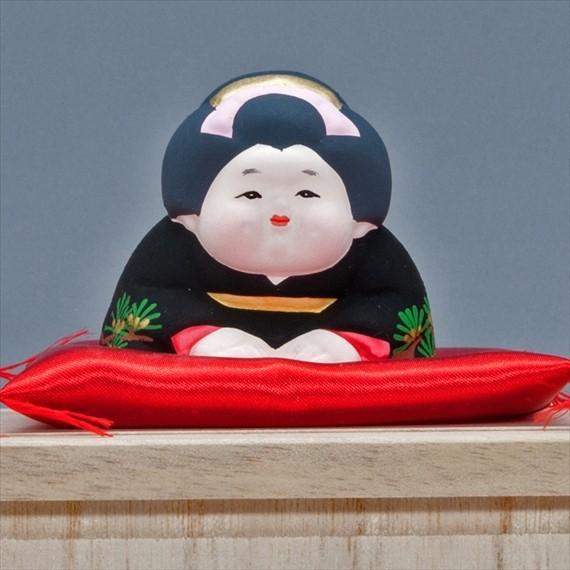 博多人形 【三福三 (さんぷくさん)お福さん】 三体のお茶目で可愛いお福さんにホッコリ〜 hakata-honpo 03