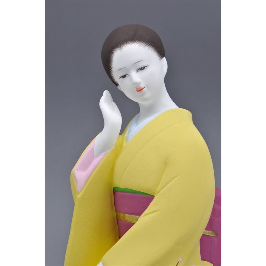 博多人形 【梅の香】 福岡の代表的な花「梅」の柄が、素敵な人形です。|hakata-honpo|04