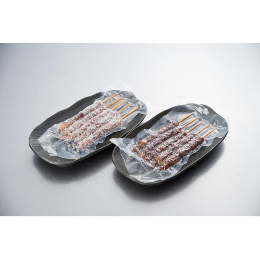 とりかわ 鶏皮 焼き鳥 10本セット 5本×2袋 串 やきとり 長政|hakatatorikawa|06