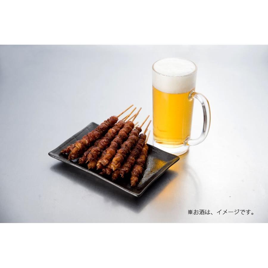 とりかわ 鶏皮 焼き鳥 10本セット 5本×2袋 串 やきとり 長政|hakatatorikawa|08