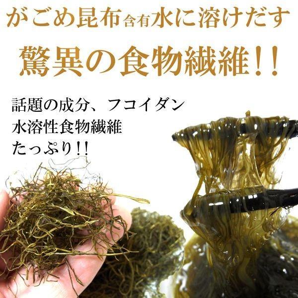 がごめ昆布 細切り 刻みがごめ昆布 50g×2ヶ がごめ昆布100% 北海道産 昆布 メール便 送料無料 ポイント消化 食品|hakodate-e-kombu|02