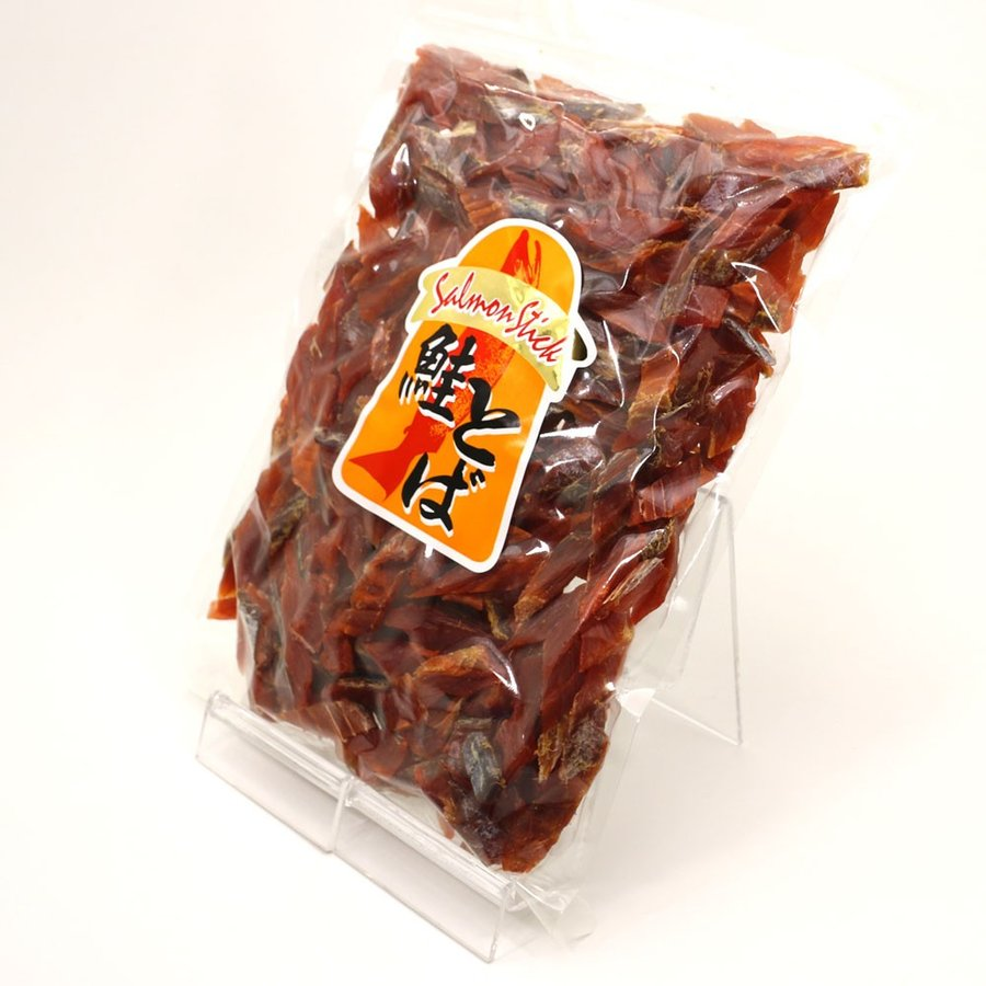 鮭とば ソフト短めカット 業務用 500g シャケとば 北海道 お土産 訳あり食品 メール便 送料無料 ポイント消化 hakodate-e-kombu 07