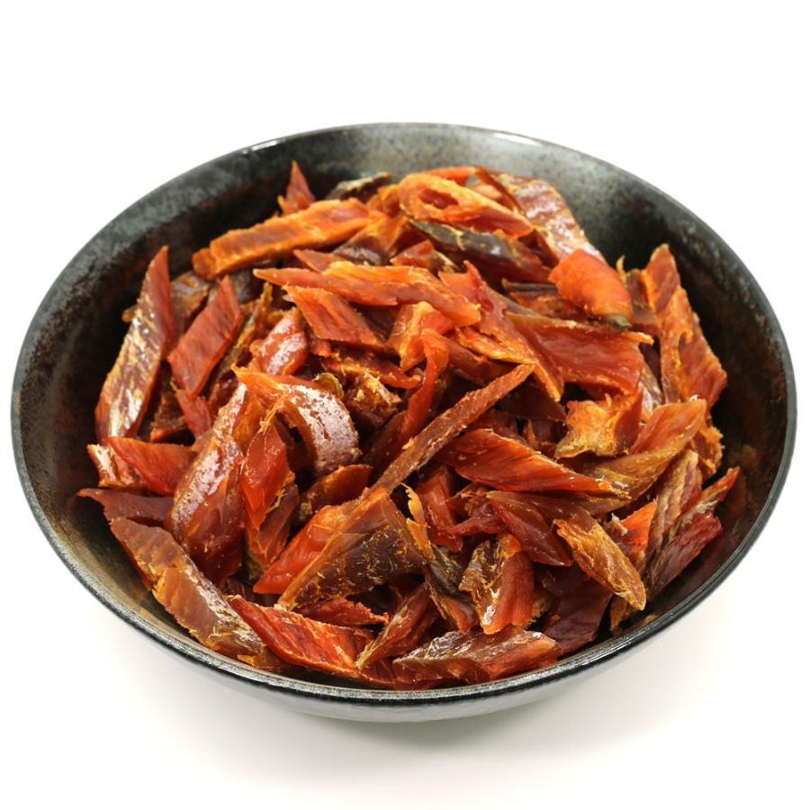 鮭とば ソフト短めカット 業務用 500g シャケとば 北海道 お土産 訳あり食品 メール便 送料無料 ポイント消化 hakodate-e-kombu 10