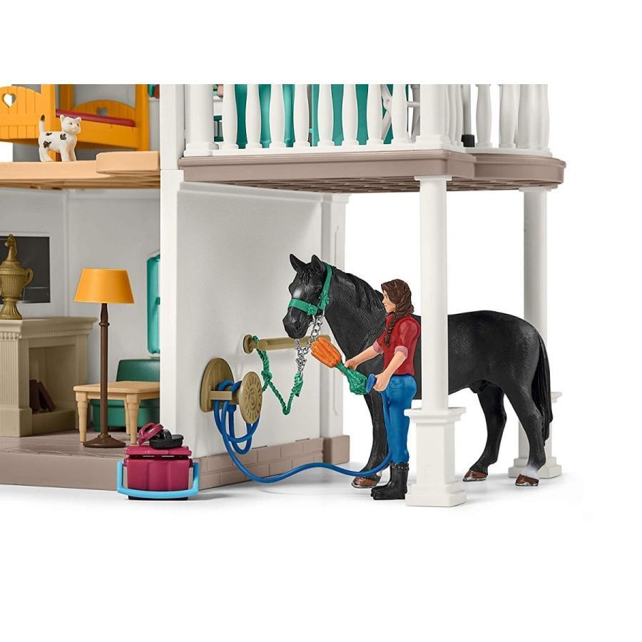 シュライヒ 42416 ホースクラブの大きなお家と馬小屋セット 動物フィギュア|hakoniwa|04