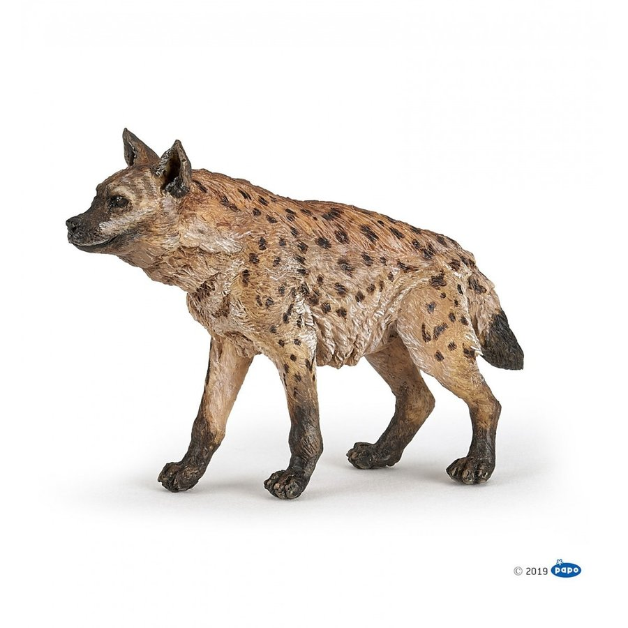 PAPO(パポ) 50252 ハイエナ(ブチハイエナ) 動物フィギュア|hakoniwa