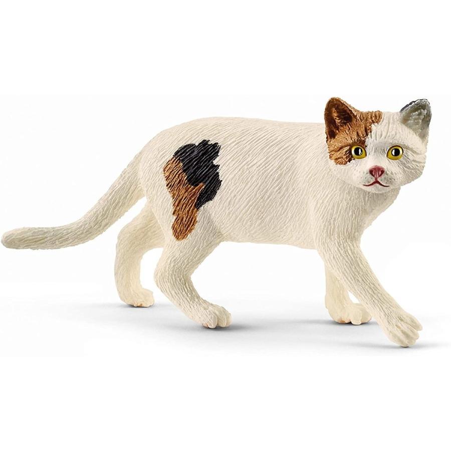 シュライヒ 13894 ネコ(歩) 動物フィギュア hakoniwa