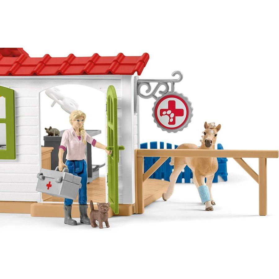 シュライヒ 42502 動物病院とペット 動物フィギュア hakoniwa 05
