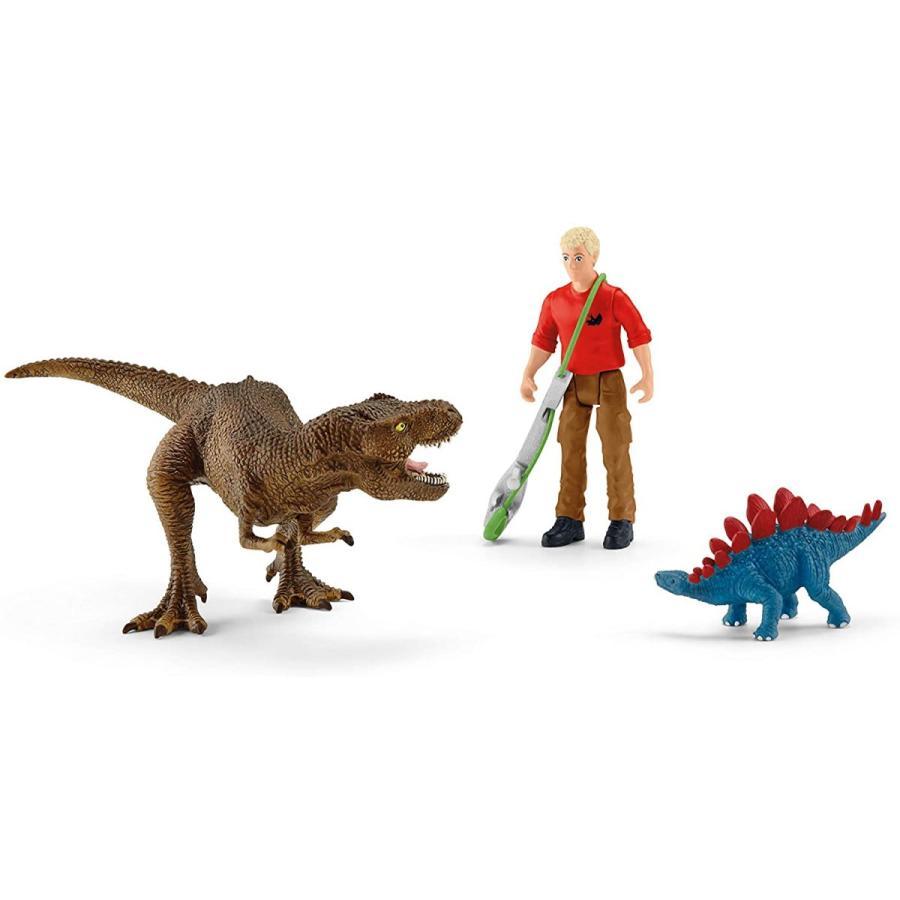 シュライヒ 41465 ティラノサウルス・レックスの攻撃 恐竜フィギュア hakoniwa 02
