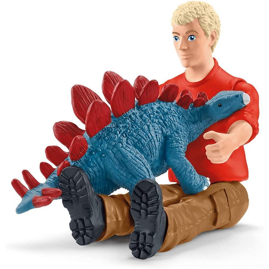 シュライヒ 41465 ティラノサウルス・レックスの攻撃 恐竜フィギュア hakoniwa 03