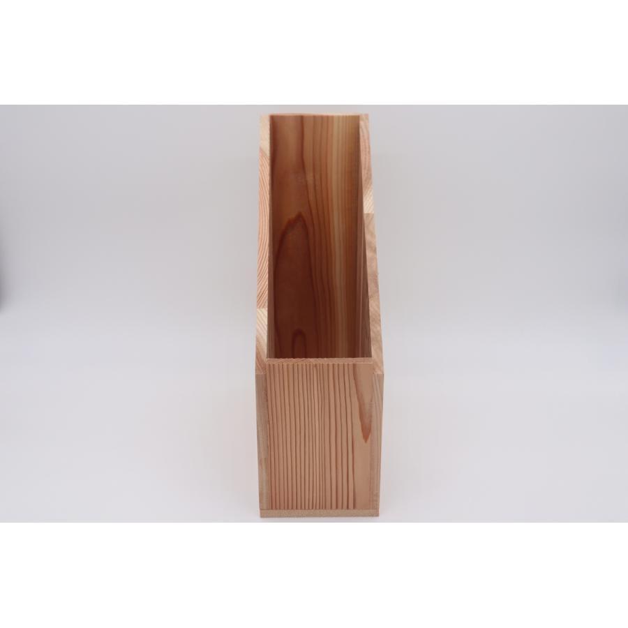 【書類ケース 贈答用 ギフト用】 内寸 縦245mm × 幅95mm × 高さ320mm 材料杉|hakoyu