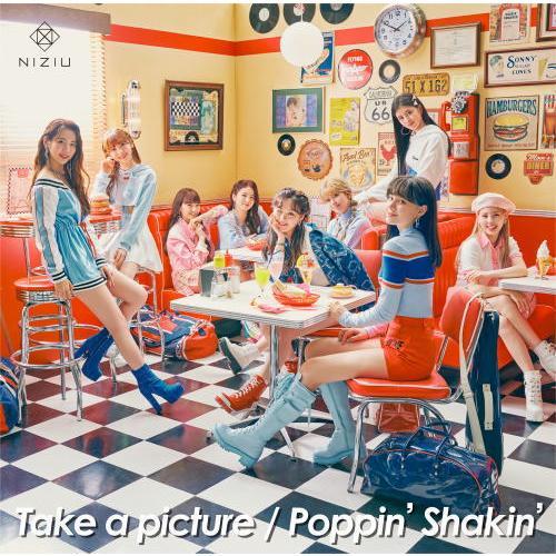CD)NiziU/Take a picture/Poppin' Shakin'(初回出荷限定盤B) (ESCL-5515)|hakucho